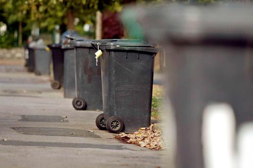 It is hoped that a move to a system of pay by weight will result in more recycling Photo: Collins