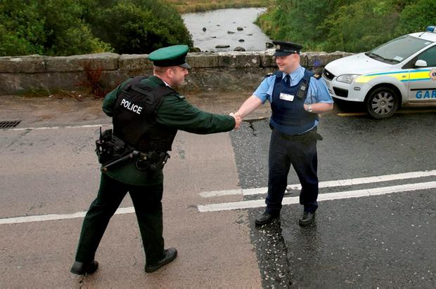 There is close co-operation between An Garda Síochána and the PSNI and authorities in both jurisdictions will want to see that maintained. Pic: Mark Condren