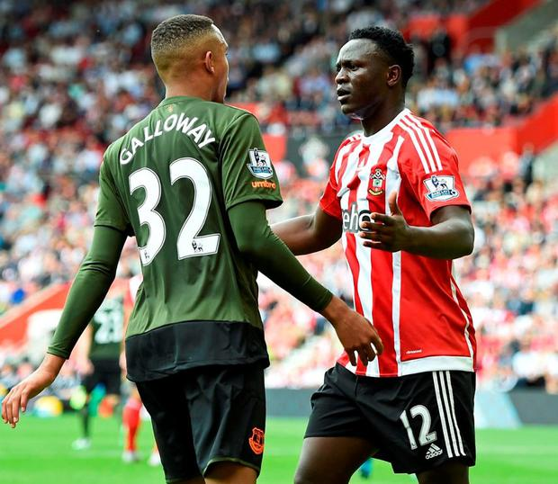 Victor Wanyama (right) Photo: Reuters / Dylan Martinez