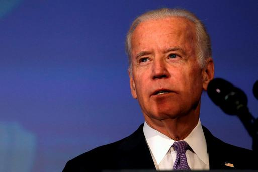 Mr Biden will land in Dublin this evening. REUTERS/Carlos Barria