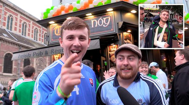 4f747e0691dc5 I'll get it back to you Ma' – Irish fans need bailout after 'losing ...