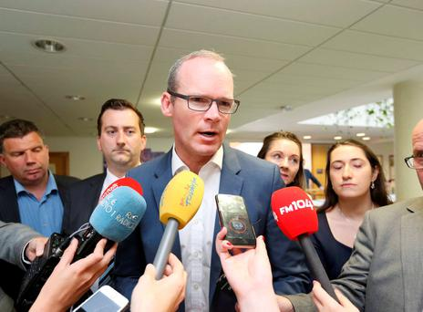 Simon Coveney is now confronted with enormous public disquiet over the charges, which the previous administration promised would not result in higher bills for most families. Photography: RollingNews.ie