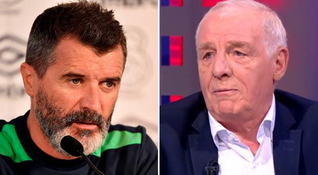 Roy Keane and Eamon Dunphy