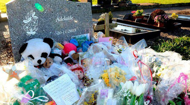 People from Berck-sur-Mare paid tribute to the girl after the mayor provided a 'dignified grave' for her