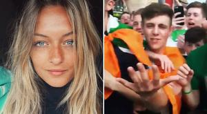 Carla Roméra was delighted to have shared in the enjoyment of Ireland Euro 2016 journey.. Pic: Instagram/Carla_RM_