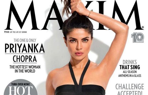 Priyanka Chopra covers Maxim