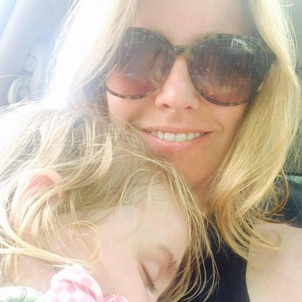 Stacey Wehrman Feeley and her daughter