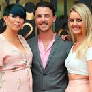 Sue Berry with Mark Byrne and Jennifer Doyle at the 50th anniversary L'Oreal Colour Trophy held in the Convention Centre, Dublin. Picture: Robbie Reynolds