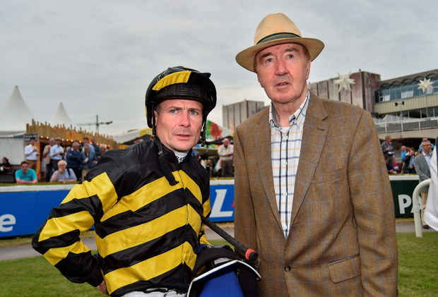 The insatiable Dermot Weld-Pat Smullen axis continues its rampaging form. Photo by Cody Glenn/Sportsfile