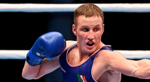 Michael O'Reilly: One victory away from booking his ticket to Rio Picture credit: Paul Mohan / SPORTSFILE