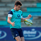 O'Halloran believes that the experience of being in South Africa, working at this intensity and winning his first cap will only improve him. Photo by Brendan Moran/Sportsfile