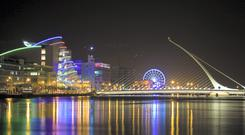 Dublin ranked 47th on the list globally, while London was in 17th place