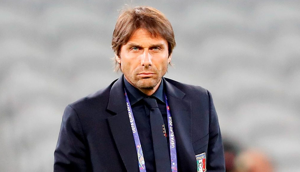 Italy coach Antonio Conte. (AP Photo/Antonio Calanni)
