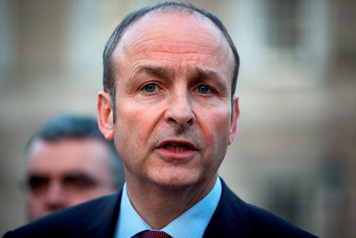 Fianna Fáil leader Micheál Martin said the killing of an elected representative must be reflected upon by everyone. Picture:Arthur Carron