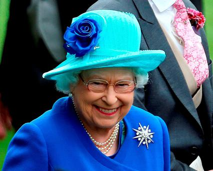 """Queen Elizabeth is, officially at least, politically neutral, but she intervened in the Scottish referendum debate in 2014 by suggesting in a conversation with a member of the public, which she knew was likely to be reported by the press, that she hoped Scots would """"think very carefully"""" before voting. Photo: Steve Parsons/PA Wire"""