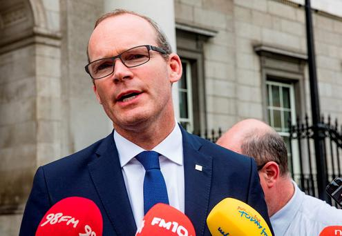 Simon Coveney: Regulation warning to waste firms. Pictures:Arthur Carron