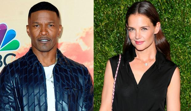 Jamie Foxx and Katie Holmes make it official?