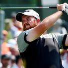 Shane Lowry hits his tee shot on the 2nd hole during the final round of the U.S. Open golf tournament at Oakmont Country Club. Credit: Kyle Terada-USA TODAY Sports