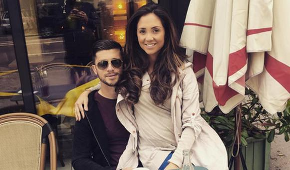 Shane Long and wife Kayleah