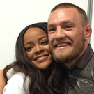Rihanna meets Conor McGregor backstage at Dublin gig. Photo: Rihanna / Instagram