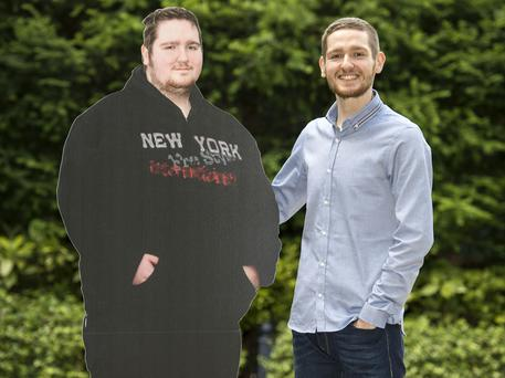Tom Johnston from Northern Ireland is named Slimming World's Young Slimmer of the Year 2016