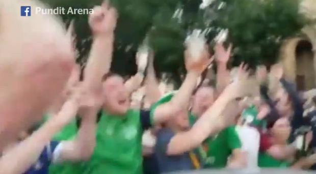 Irish fans have taken over any city they have visited during Euro 2016