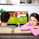 A quarter of men are concerned about neglecting their significant other during the Euros