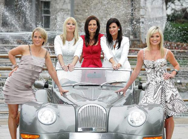 (L to R) Sybil Mulcahy, Aisling O'Loughlin, Lorraine Keane, Lisa Cannon and Karen Koster