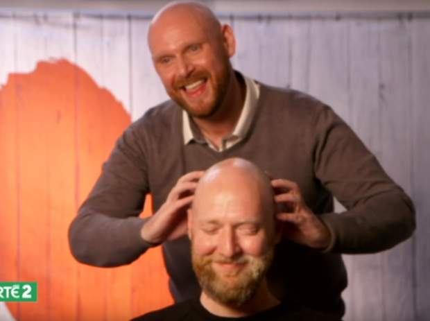 Simon and Tynan. Photo: First Dates Ireland