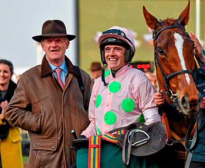 The Big Bad Bob six-year-old made its debut for Mullins at Navan on May 28. Picture credit: Seb Daly / SPORTSFILE