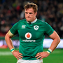 Jamie Heaslip has been the player of the series so far. Photo by Brendan Moran/Sportsfile