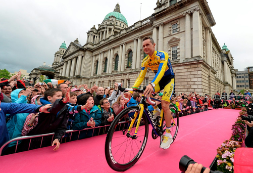Roche was part of the Sky team that supported Chris Froome on his way to victory in last year's Tour. Picture credit: Stephen McMahon / SPORTSFILE