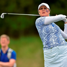 Olivia Mehaffey shot a one-under-par 71 for a 36-hole aggregate of 145. Photo by Matt Browne/Sportsfile