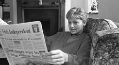 Crime reporter Veronica Guerin was a thorn in the side of gangland figures. Photo: David Conachy/INM
