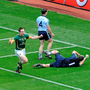 Meath's Stephen Bray celebrates after scoring his side's first goal in their 2010 Leinster SFC semi-final victory over Dublin in Croke Park. Pic: Brendan Moran/Sportsfile