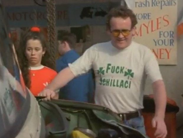 Colm Meaney in The Van.