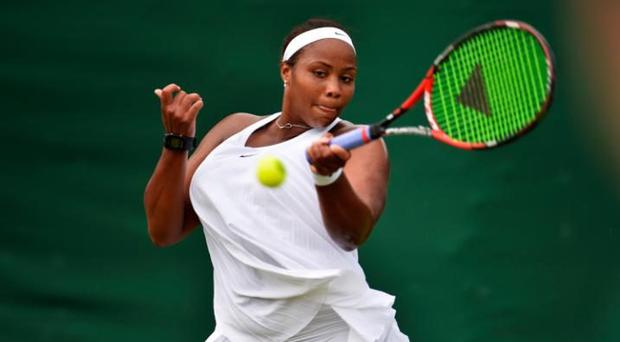 Taylor Townsend is among the players to have worn the dress so far CREDIT: GETTY IMAGES