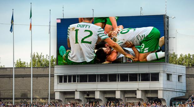 Croke Park could be a very cool place to watch the Ireland-France game