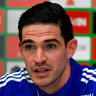 Lafferty, is expected to return to the starting line-up after being dropped for the games against Ukraine and Germany. Photo: Philippe Desmazes/Getty Images