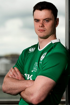 James Ryan of Ireland U20. Photo: Sam Barnes/Sportsfile