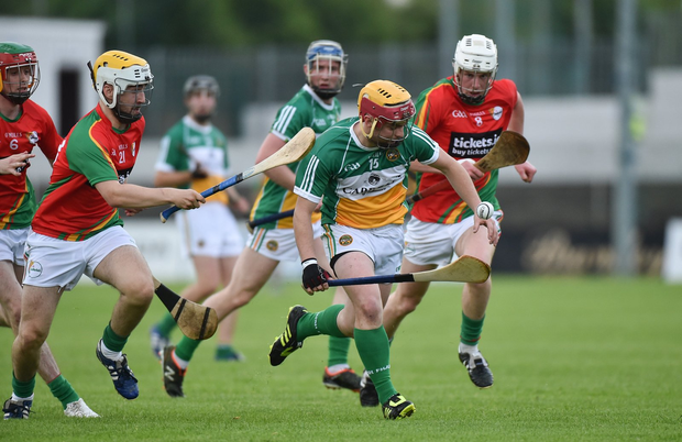 Dylan Murphy in action against Darragh O'Neill Photo by Matt Browne/Sportsfile