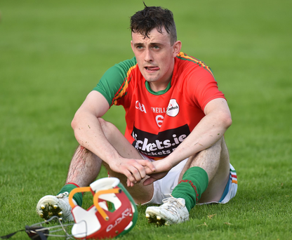 Sean Whelan of Carlow Photo by Matt Browne/Sportsfile