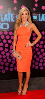 Queen of the Irish WAGs: Claudine Keane.