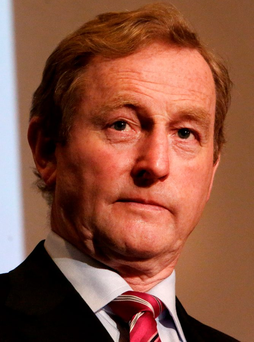 Enda Kenny. Photo: Gerry Mooney