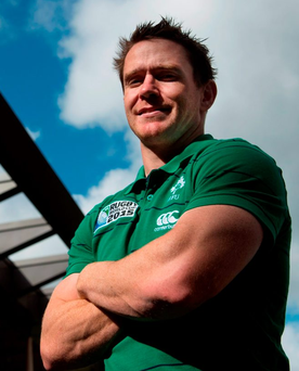 Ireland's Eoin Reddan poses for a portrait. Photo: Brendan Moran/Sportsfile
