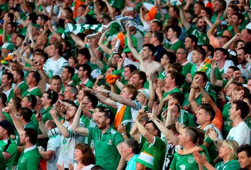 The team ingeniously assembled by Martin O'Neill, and forged into such a sharp unit by Roy Keane, has finally led supporters parched for the taste of success to the oasis Photo: PA