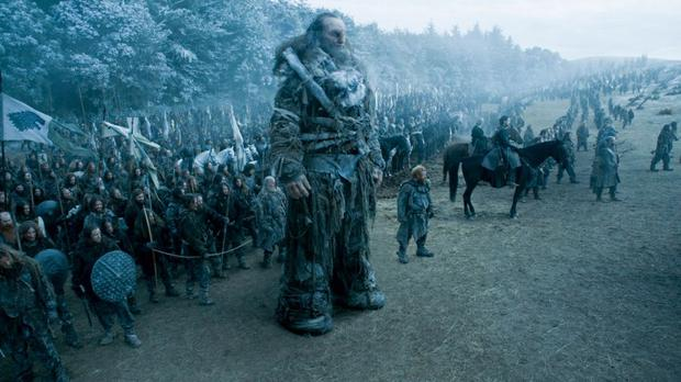 A scene from Game of Thrones 'Battle of the Bastards'