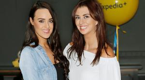 Emily MacKeogh and Suzy Griffin at the Expedia 20 Years Celebration event at Farrier & Drape. Picture: Kieran Harnett