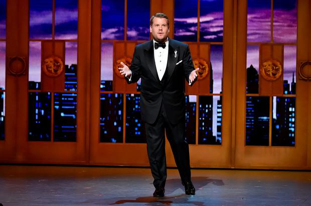 James Corden speaks onstage during the 70th Annual Tony Awards at The Beacon Theatre on June 12, 2016 in New York City. (Photo by Theo Wargo/Getty Images for Tony Awards Productions)