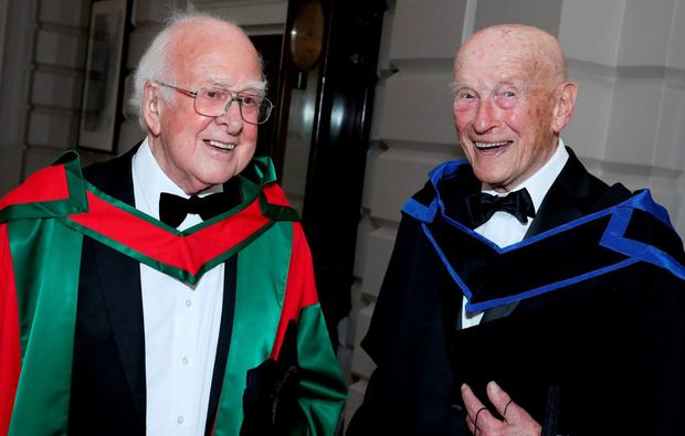 Life begins at 97 for Trinity's oldest honorary arts